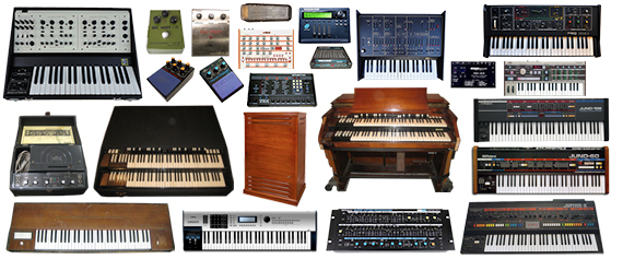 keyboard synthesizers and organs in Los Angeles and Orange County