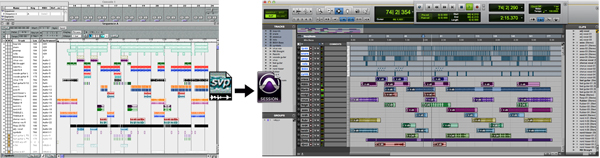 Vision to Pro Tools