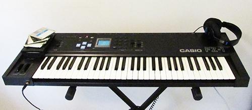 Casio FZ-1 Sampler