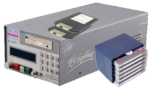 360 Systems Digicart II Plus and Iomega Zip disks