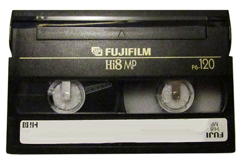 Hi8 video tape