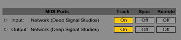 RTP-MIDI over the Internet | Deep Signal Studios
