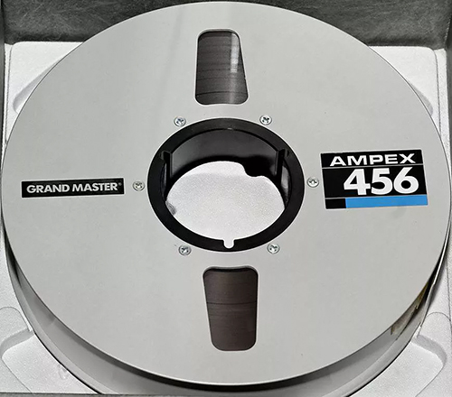 Ampex 2 inch tape