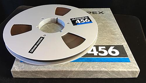 Ampex half inch tape