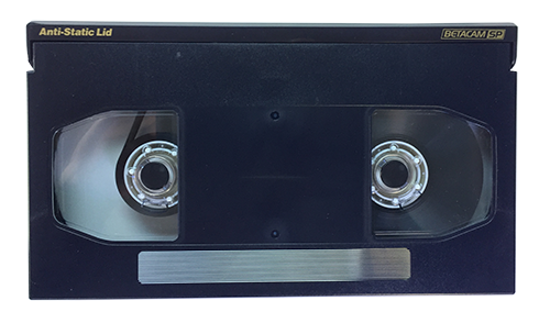 Betacam SP video tape