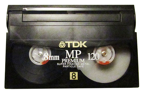 Digital 8 video tape