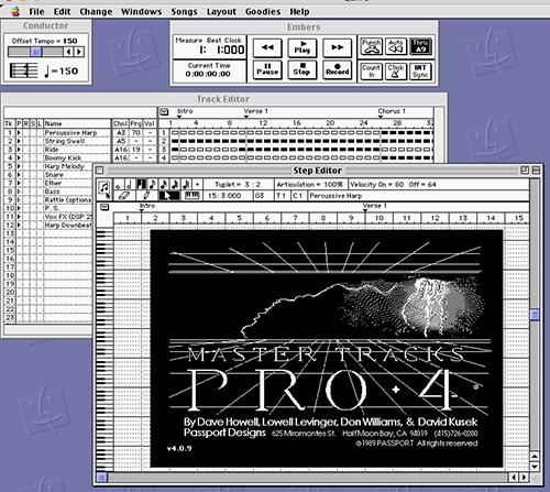 Master Tracks Pro 4 for Macintosh