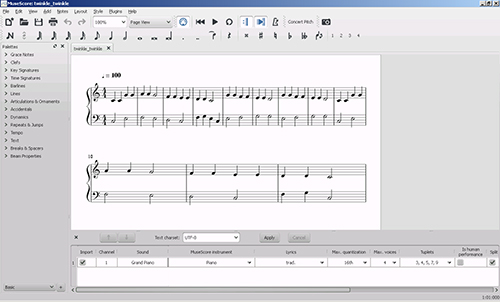 MuseScore .MSCZ and .MSCX File Conversion