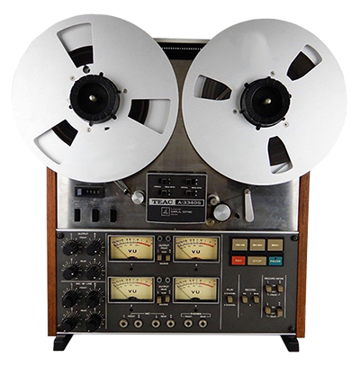 Teac A-3340 4 track tape machine
