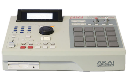 Rent a Akai MPC2000XL in Los Angeles and Orange County