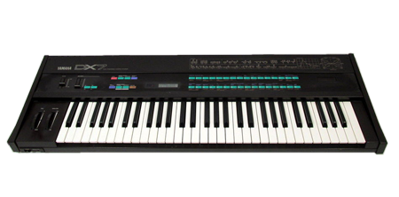 Yamaha DX7  FM keyboard synth