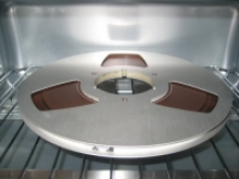 a reel to reel tape in the oven